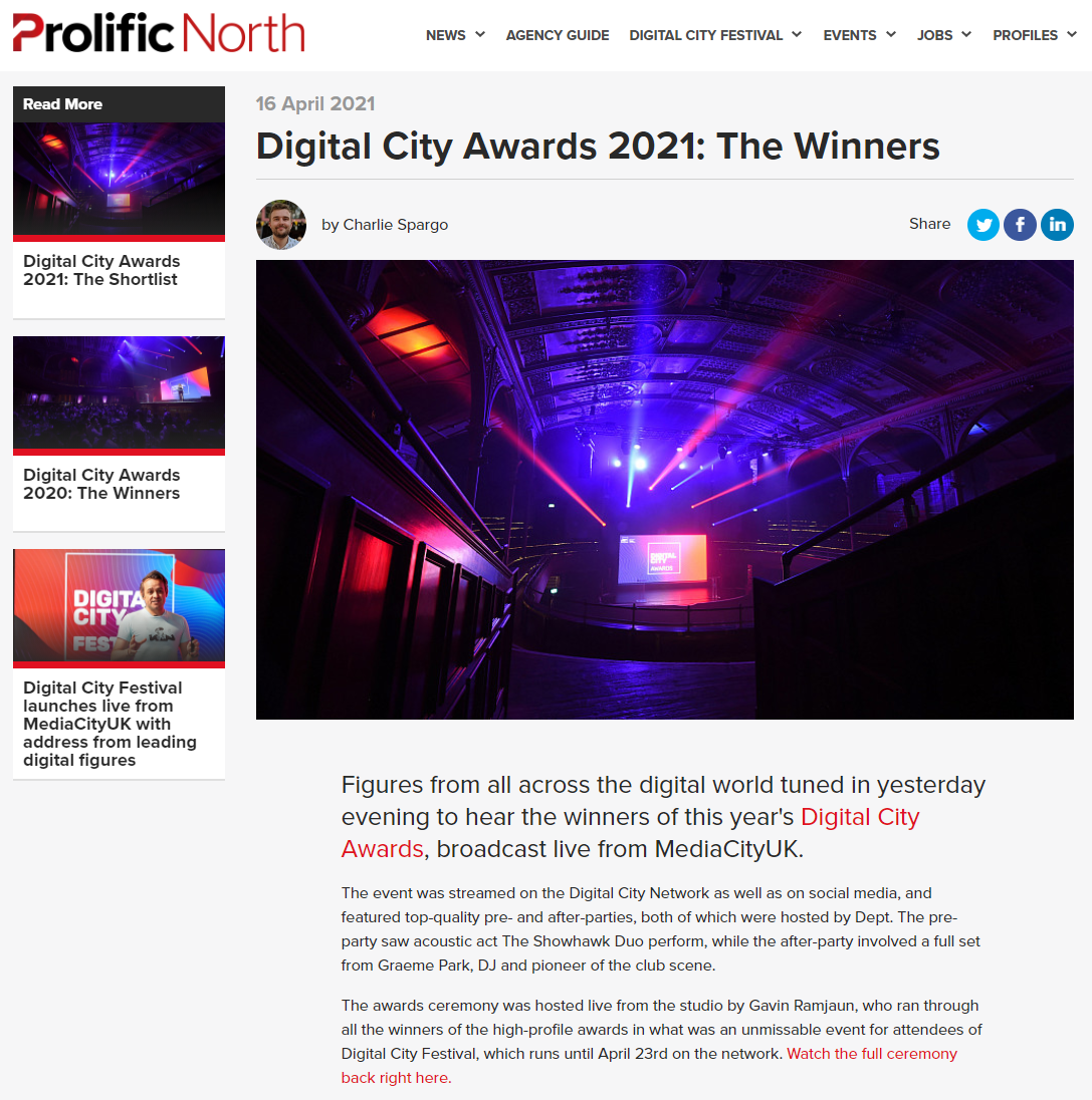 prolific north article preview